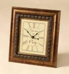'Take Time To Pray' Desk Clock