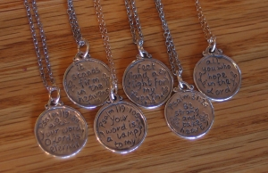 Small Scripture Medallions