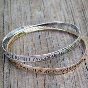 Gold & Silver Mobius Bracelet
