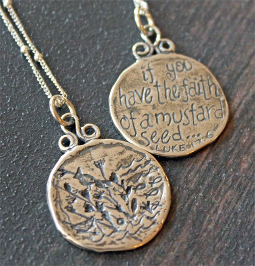 New sterling silver christian jewelry the christian gifts place blog see aloadofball Image collections