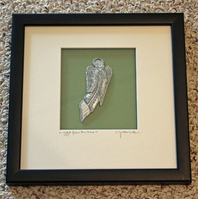 Angel Heart Framed Wall Art