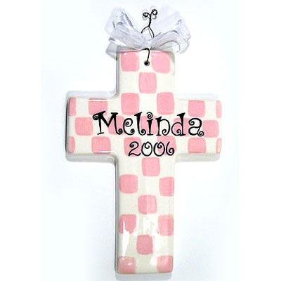 Baby Dedication Cross Gift