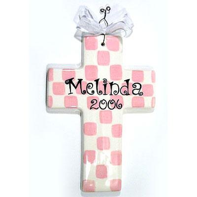 Baby Dedication Cross Gift