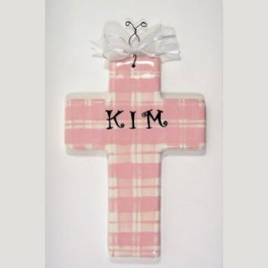 Personalized Cross for Baby