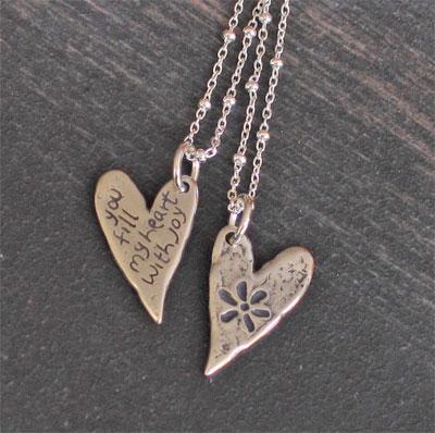 Heart JOY Pendant
