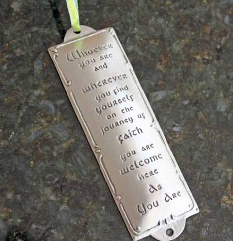 Whoever You Are... Pewter Room Blessing