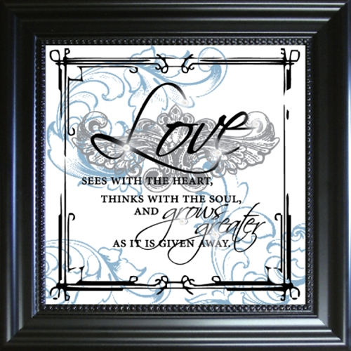 Inspirational Framed Glass Wall Art Unique And Different