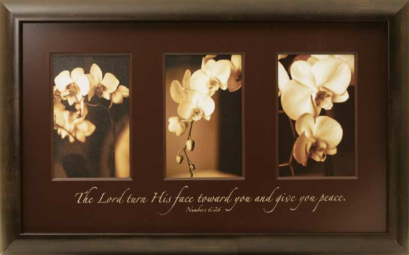 Christian framed wall art unique and different for Home interiors and gifts framed art