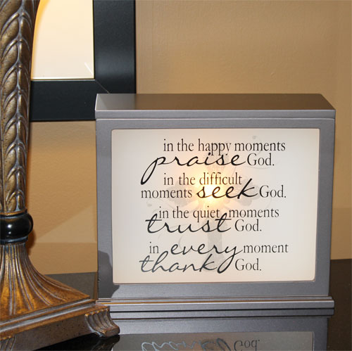 Jada Venia Light Boxes Are Hot The Christian Gifts