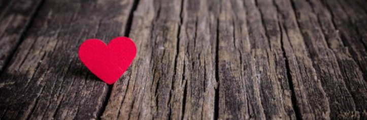 heart-on-wood