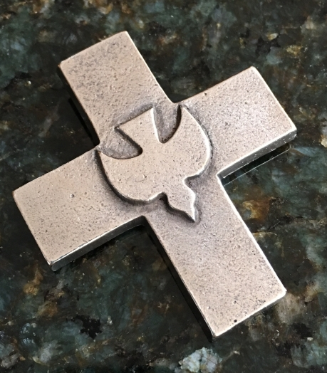 Holy Spirit Cross with Dove